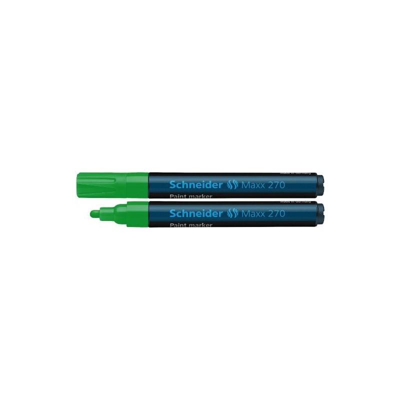 Marqueur Paint à pointe large conique Schneider Maxx 270 / Vert