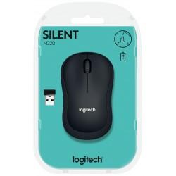 Souris sans fil Logitech M220 Silent / Noir
