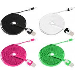 Câble Plat USB vers Micro USB