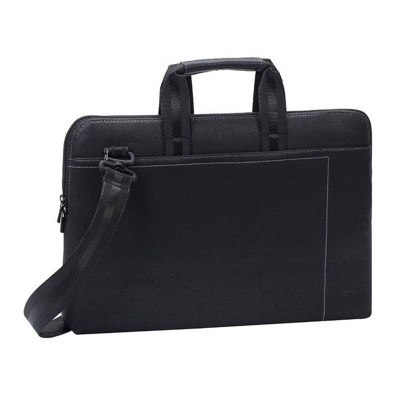 "Sacoche pour PC Portable 15.6"" Rivacase 8930 / Noir"