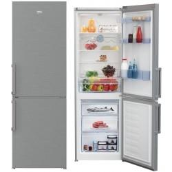 Réfrigérateur Combiné BEKO 365L / Silver