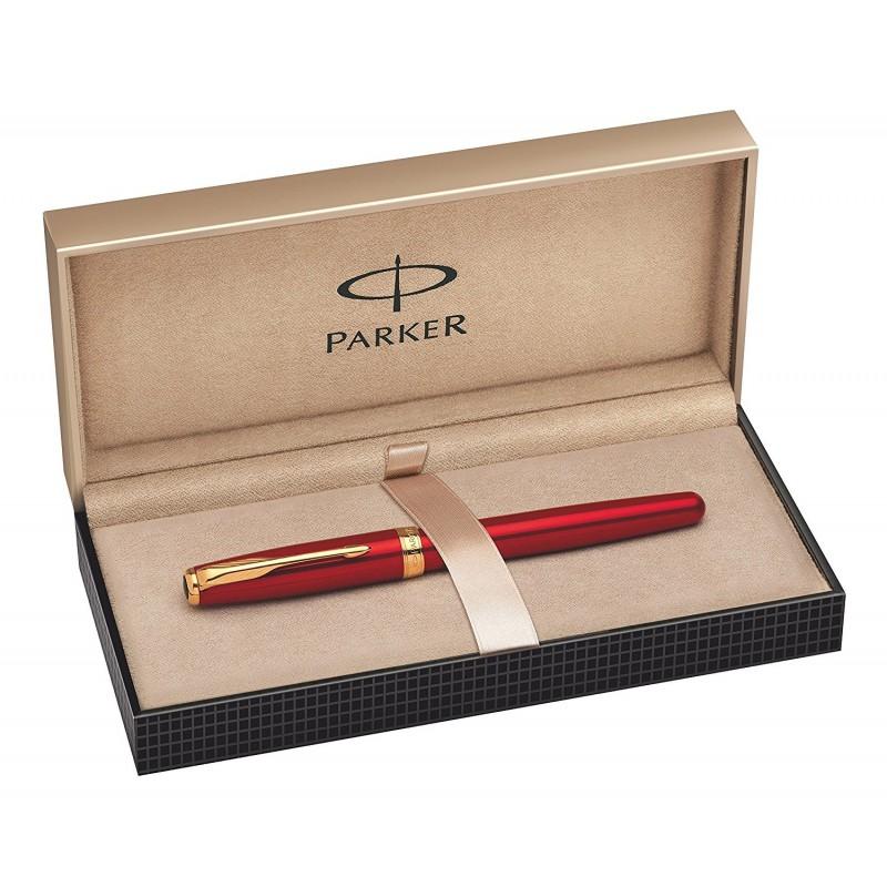 Stylo-plume Parker Sonnet Laque Rouge