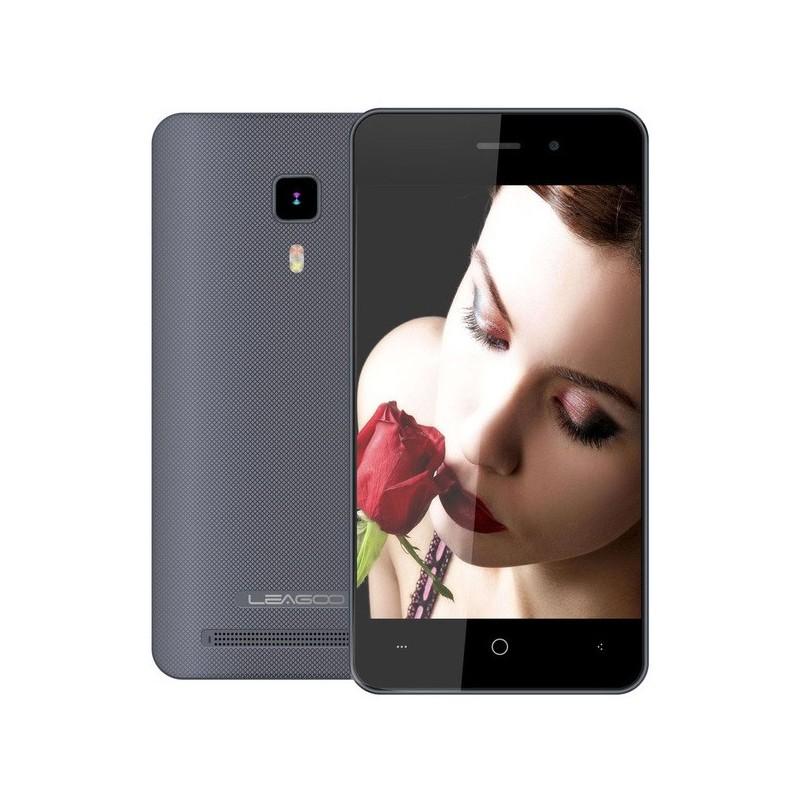 TÉLÉPHONE PORTABLE LEAGOO Z1C / 3G / DOUBLE SIM / BLANC + SIM OFFERTE