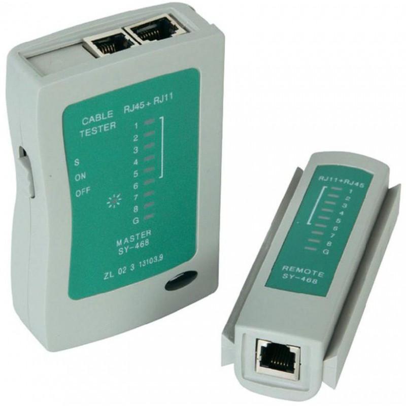 Testeur de câbles RJ11 / RJ45 / BNC / USB