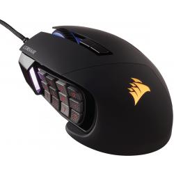 Souris USB Corsair Gaming Scimitar RGB Noir