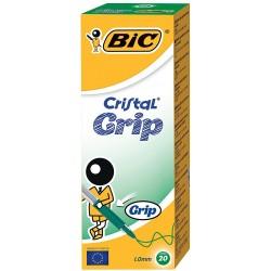 Lot 20 Stylos BIC Cristal Grip / Vert