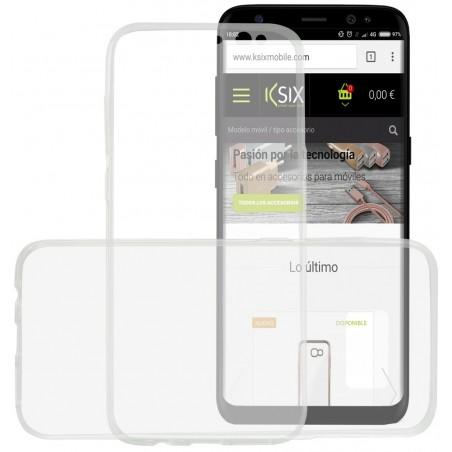 Etui De Protection Ksix Flex Cover 360 avec Couvercle Avant pour Samsung Galaxy S8 Plus