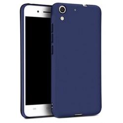 Etui de Protection Addison Matte Bleu Pour Huawei Y6 II