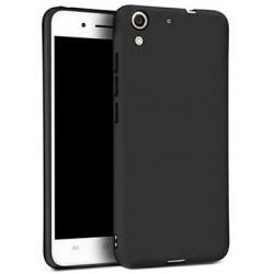 Etui de Protection Addison Matte Noir Pour Huawei Y6 II