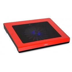 """Refroidisseur USB Addison ANC-42 Pour PC Portable 15.6"""" / Rouge"""