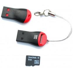 Mini Lecteur de cartes USB...