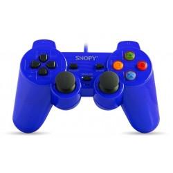 Manette de Jeux USB avec Analogue Snopy Mavi SG-302 / Bleu