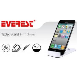 """Support Everest Pour Tablette Jusqu'à 10"""" / Blanc"""