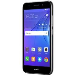 Téléphone Portable Huawei Y3 2017 / 3G / Gris + Film de protection + SIM Offerte