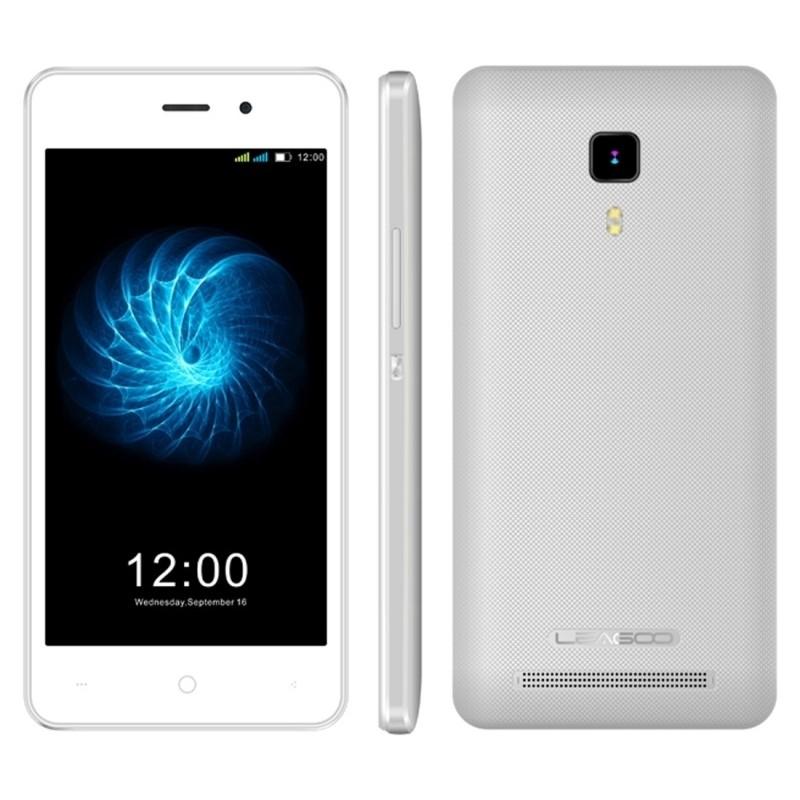 TÉLÉPHONE PORTABLE LEAGOO Z3C / 3G / DOUBLE SIM / BLANC + SIM OFFERTE
