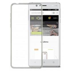 Etui TPU Ksix Flex Cover pour Nokia 3