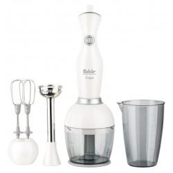 Mixeur Fakir Capo 3en1 / 550 W / Blanc