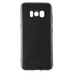 Etui TPU Ksix Flex Pour Galaxy S8 Plus / Noir