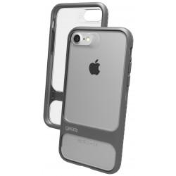 Etui en Silicone Gear4 Soho D3O pour iPhone 7 / Silver