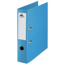 Classeur à levier Plastipap A4 dos de 75mm / Bleu clair