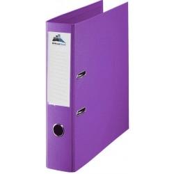 Classeur à levier Plastipap A4 dos de 75mm / Violet