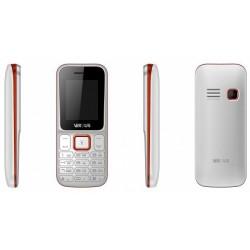 Téléphone Portable Versus X1 / Double SIM / Blanc & Rouge