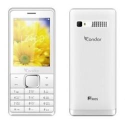 Téléphone Portable Condor F-TRIOS / Triple SIM / Blanc + SIM Offerte