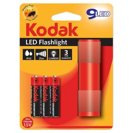 Torche Kodak 9 LED FlashLight / Rouge