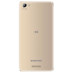 TÉLÉPHONE PORTABLE EVERTEK P1 / 3G / DOUBLE SIM / GOLD