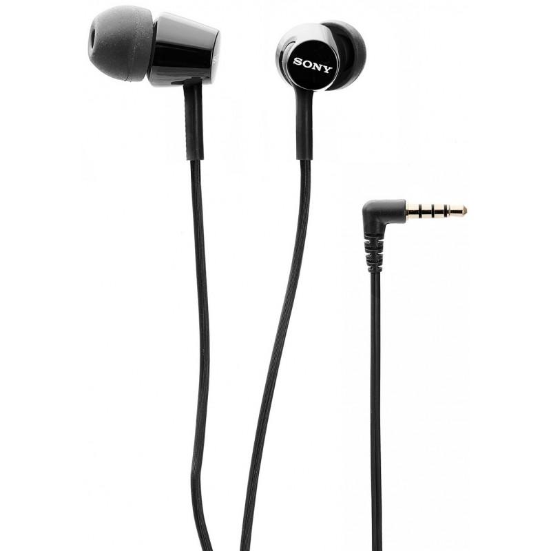 écouteurs Intra Auriculaires Sony Mdr Ex150 Noir