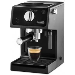 """Machine à café De'Longhi ECP31.21 avec buse vapeur """"Cappuccino"""" / Noir"""