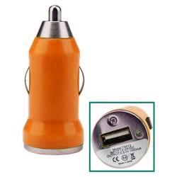 Chargeur Voiture Allume-cigare Acqua Mini 1A / Orange