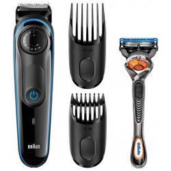 Tondeuse à barbe Braun BT3040 / Noir