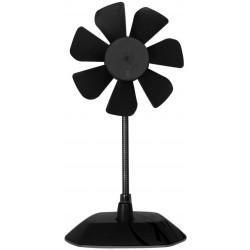 Ventilateur de Bureau Flexible avec Support 92 mm Arctic Breeze / Noir