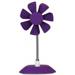 Ventilateur de Bureau Flexible avec Support 92 mm Arctic Breeze / Violet