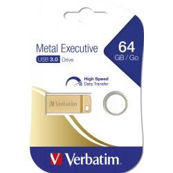 Clé USB Verbatim Executive métallique USB 3.0 / 64 Go
