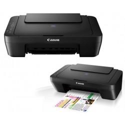 Imprimante Multifonction Jet D'encre Couleur 3 en 1 Canon PIXMA E414