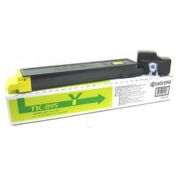 Toner Original Laser Kyocera TK-895Y / Yellow