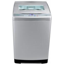 Machine à laver Automatique Top Load Unionaire 8 Kg / Silver