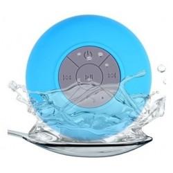 Enceinte Bluetooth Ventouse Étanche JeDEL BTS-06 / Bleu