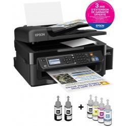 Imprimante Multifonction couleur 4en1 à réservoir intégré Epson L565 / Garantie 3 ans