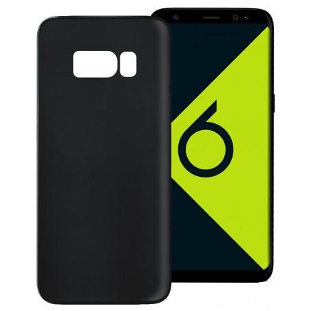 Etui TPU Ksix Ultrathin Flex Pour Galaxy S8 Plus / Noir