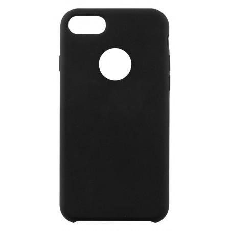 Etui en silicone Ksix Pour iPhone 7 / 8 / Noir
