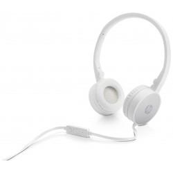 Casque stéréo HP H2800 / Blanc & Silver