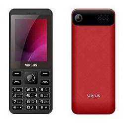 Téléphone Portable Versus F240 / Double SIM / Noir & Rouge