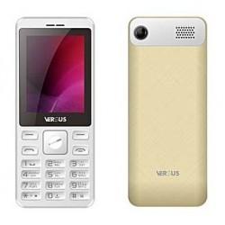 Téléphone Portable Versus F240 / Double SIM / Blanc & Gold