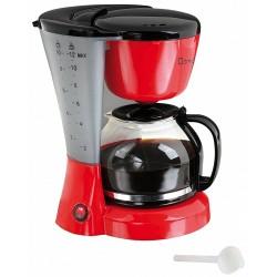 Cafetière électrique DomoClip DOM163RN / 800W / Rouge