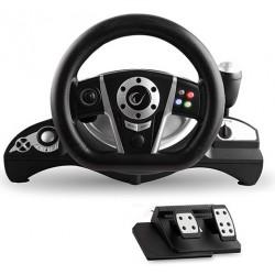 Volant pour Jeux USB Rampage Snopy RX4 Pour PC / PS3 / Xbox