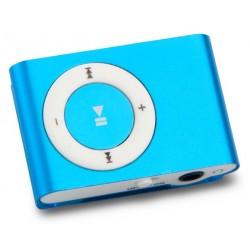 Lecteur MP3 Mikado avec Lecteur Carte Mémoire / Bleu