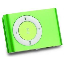 Lecteur MP3 Mikado avec Lecteur Carte Mémoire / Vert